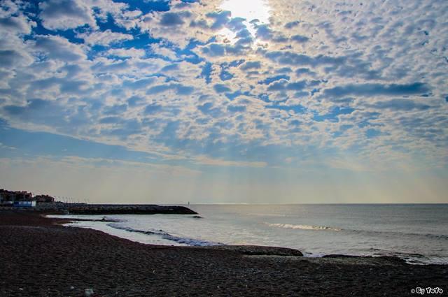 Corniche plage des Rives d'Or Sausset-les-Pins